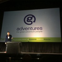 Bruce Poon Tip announcing new name G Adventures