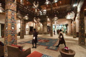 Lobby of Zhiwa Ling Hotel