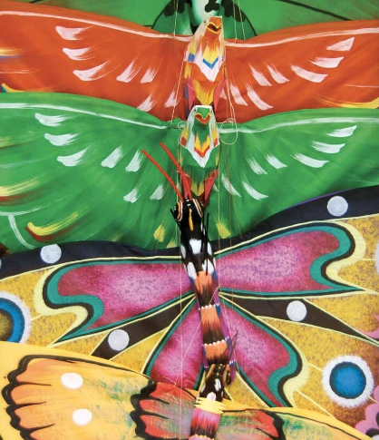 Balines Kites - image sourced from and © held by Bali Soul Journals