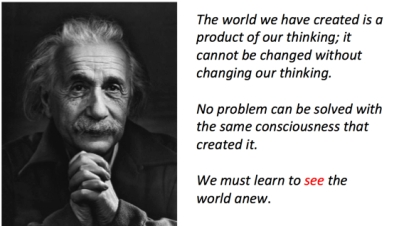 esinstein quote for blog